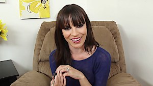 Delightful Dana DeArmond in POV blowing a large erection