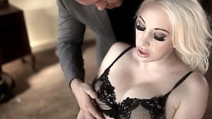 Delightful anal sex with high class blonde Valerie